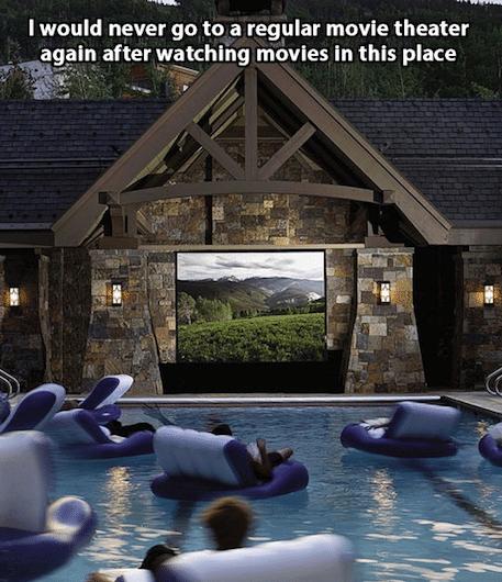 Funny Memes - regular movie theater