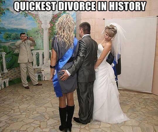 Funny Memes - speedy divorce