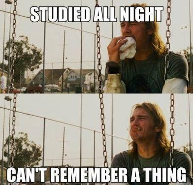 Funny Memes - studied all night