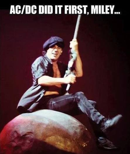 Funny Memes: ac dc did it first