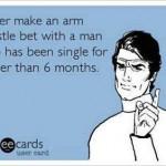 Funny Memes: arm wrestle bet