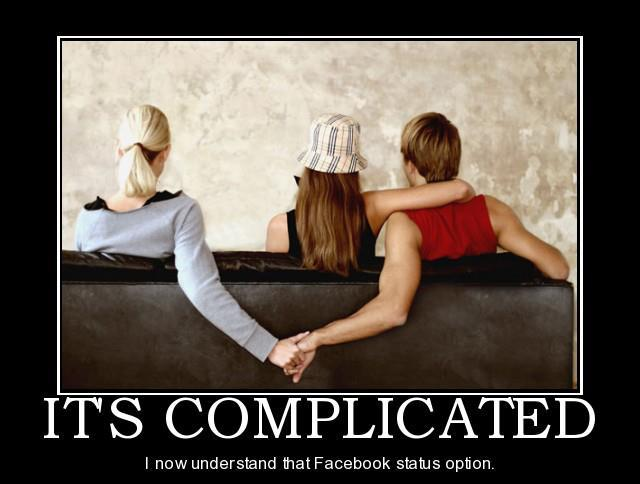 Funny Memes - Facebook Status Its Complicated