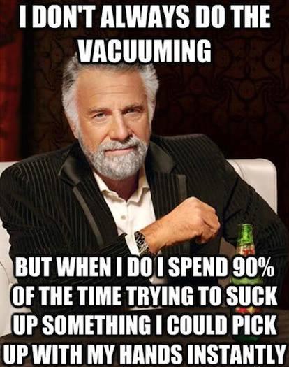 Funny Memes - do the vacuuming