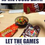 Funny Memes - let the games begin