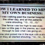Funny Memes - mind your business