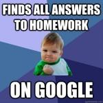 Baby Memes - homework done