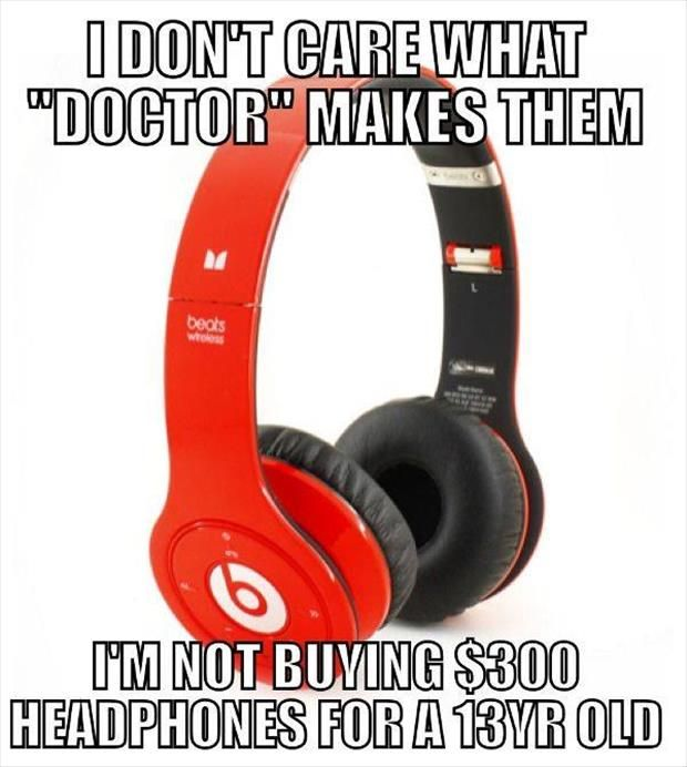 Funny Memes: beats not
