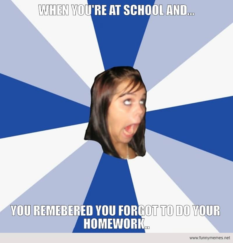 Funny Memes: That School Day....