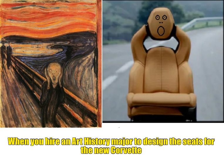Art History seat designer