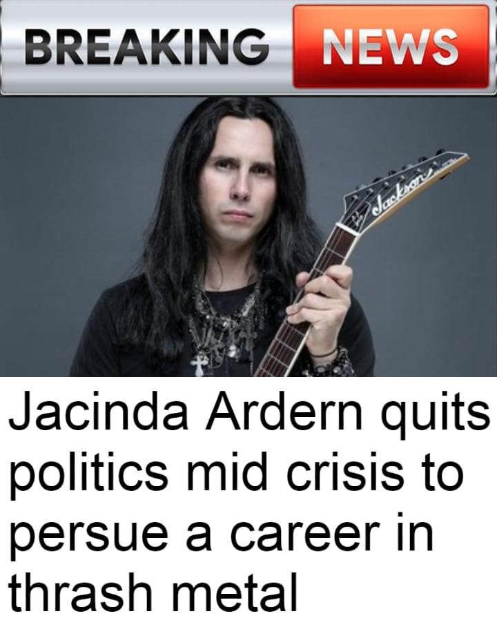 jacinda thrash metal