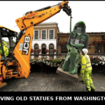 Funny Memes - Removing Old Statues from Washington DC