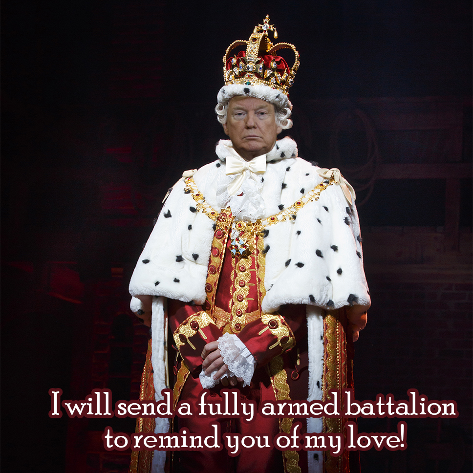 King Donald - Federal Troops